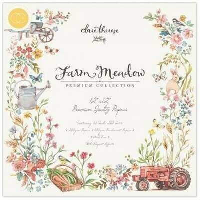 Craft Consortium Farm Meadow - Premium Paper Pad 12