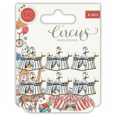 Circus - Metal Charms - Big Top