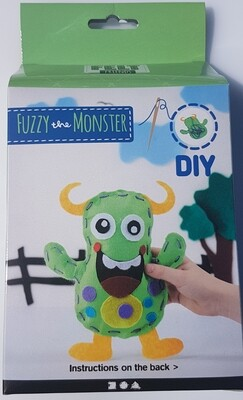 Funny Friends - Fuzzy the Monster