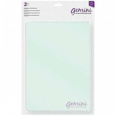 Gemini Double-sided Die Cutting Plates (set of 2)