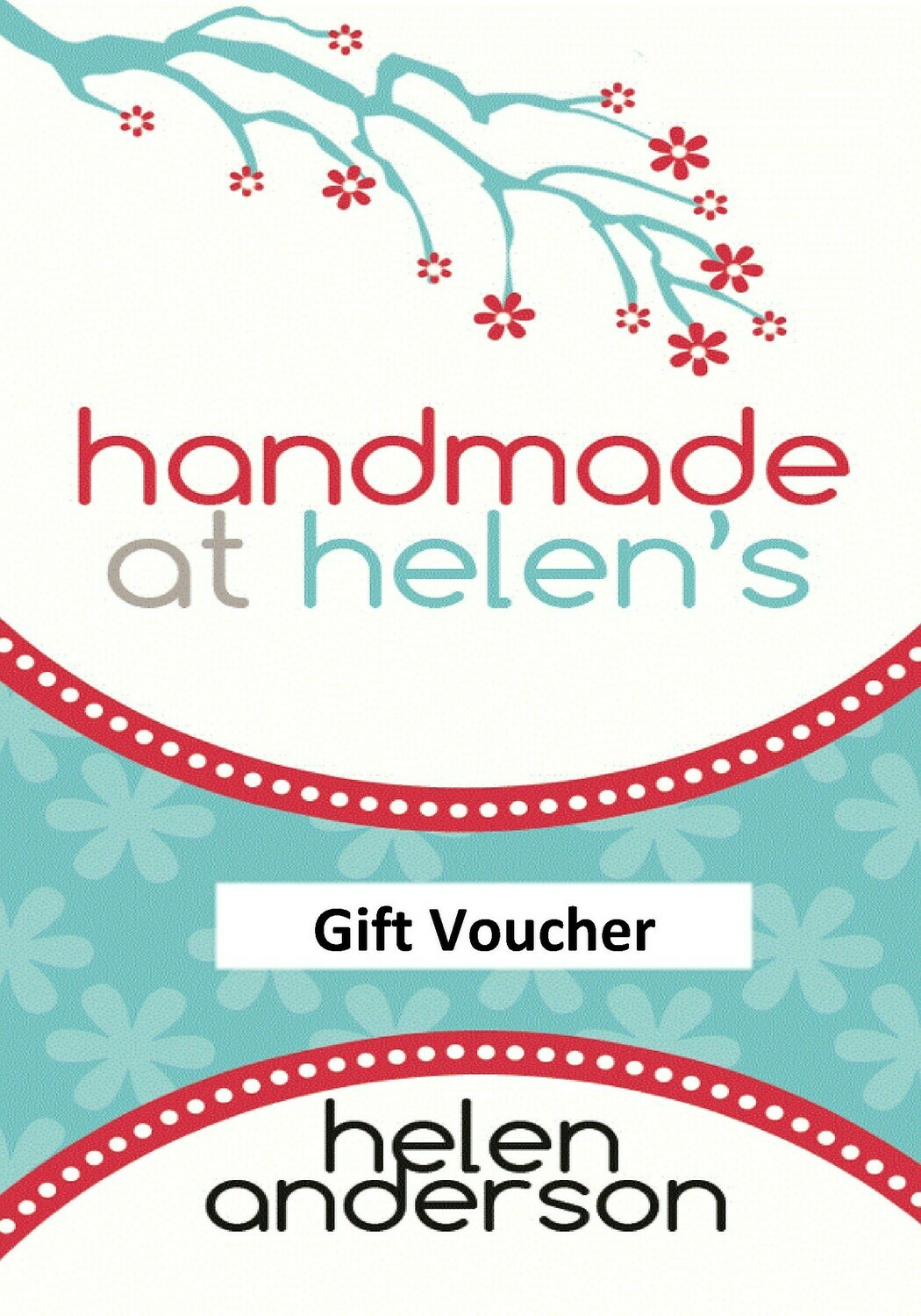 Gift card - £10, £25, £50, £75 or £100