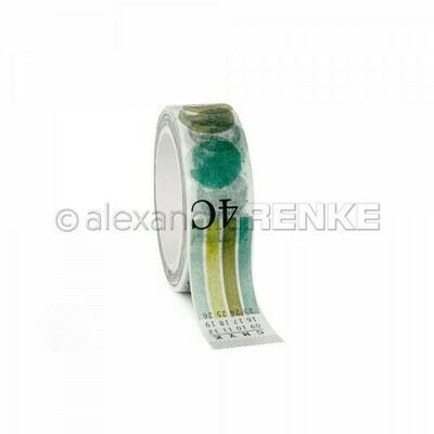 Alexandra Renke Washi Tape: Lime Green Color Proof