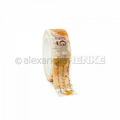Alexandra Renke Washi Tape: Yellow Color Proof