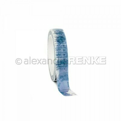 Alexandra Renke Washi Tape: Dark Blue Color Proof