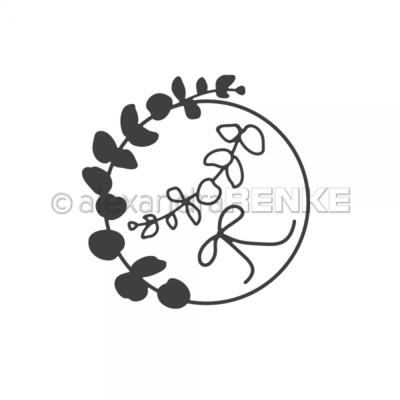 Alexandra Renke - Eucalyptus Wreath with bow die
