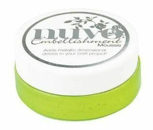 Nuvo Embellishment Mousse - Citrus Green