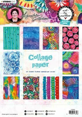 Art by Marlene - Collage Paper Pad #6