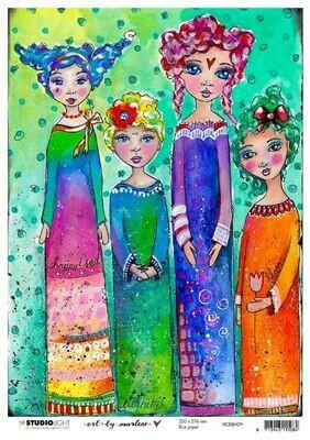 Art by Marlene - Rice Paper #9