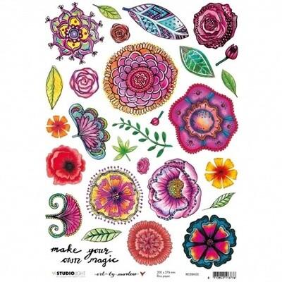 Art by Marlene - Rice Paper #5