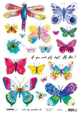 Art by Marlene - Rice Paper #6