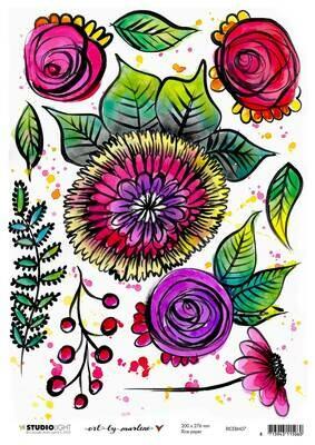 Art by Marlene - Rice Paper #7