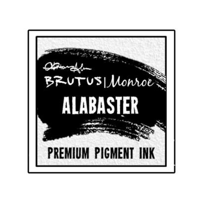 Brutus Monroe Premium Pigment Ink - Alabaster