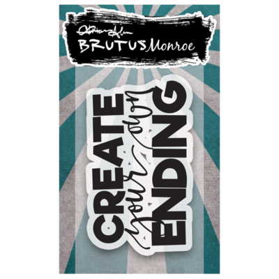 Brutus Monroe - Create Your Own Ending stamp