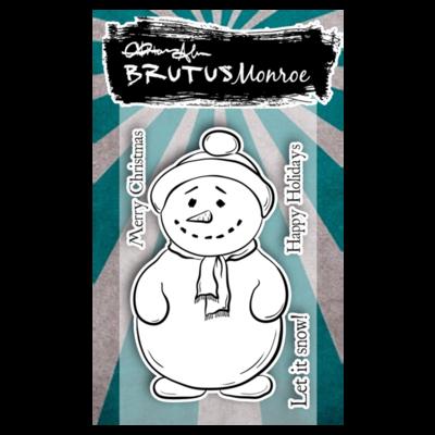 Brutus Monroe - Jolly Snowman stamp