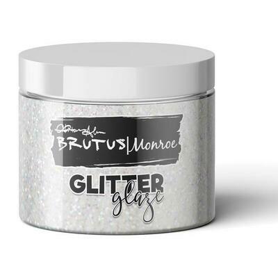 Brutus Monroe - Glitter Glaze FALLEN SNOW