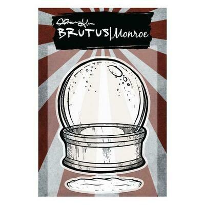 Brutus Monroe - Snowglobe stamp