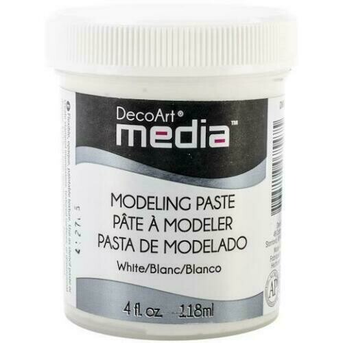 DecoArt Media - Modelling Paste White