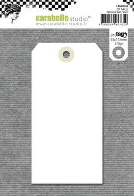Art tags - Pack of 20