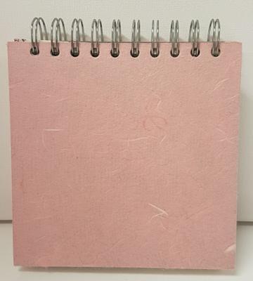 Pink Pig 6x6 Posh Fat White 150gsm Cartridge Paper Sketch Book