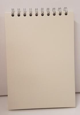 Pink Pig Sketch Book A5 Posh Eco 150gsm Black Cartridge Paper