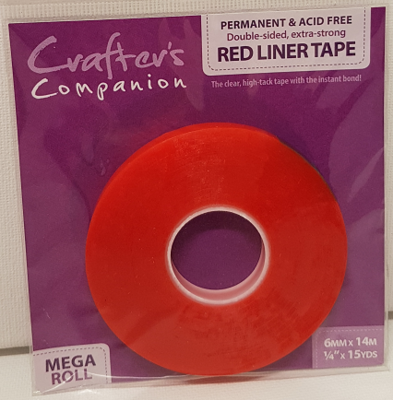 Crafter's Companion - Red Liner Tape 6mm