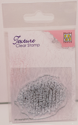 """Nellie's Choice - Texture clear stamp """"Vintage"""""""