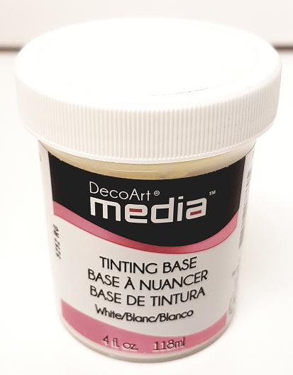 DecoArt Media - Tinting Base White