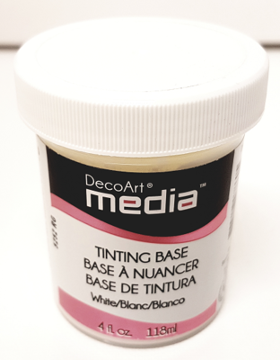DecoArt Media - Tinting Base White