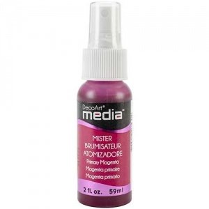DecoArt Media Misters - Primary Magenta