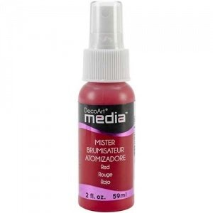 DecoArt Media Misters - Red