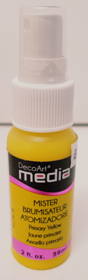 DecoArt Media Misters - Primary Yellow