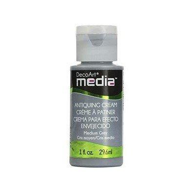 DecoArt Media Antiquing Cream - Medium Grey