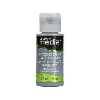 DecoArt Media Antiquing Cream - Medium Grey