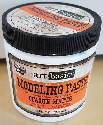Prima Art Basics Modelling Paste - Opaque Matte