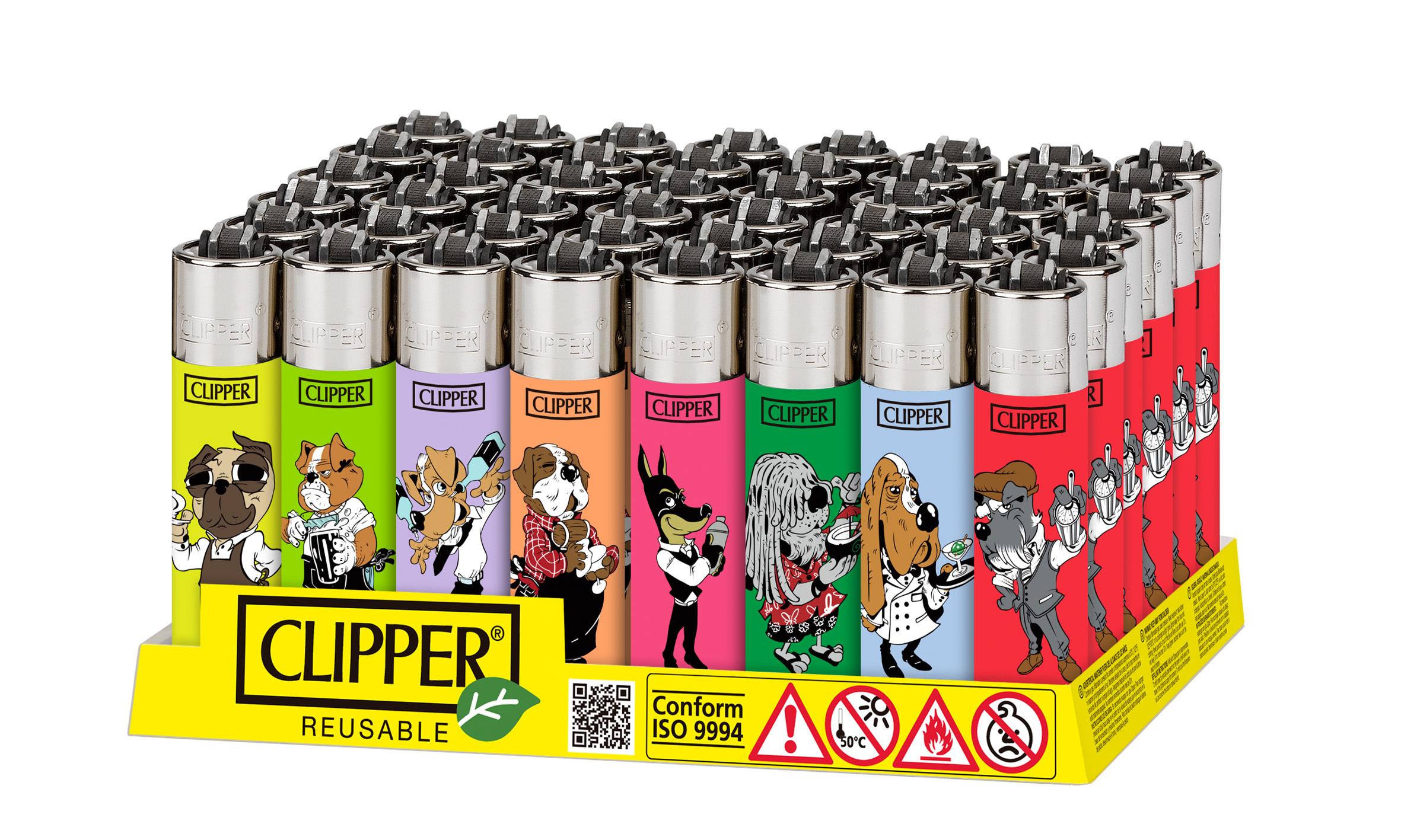 Clipper OCCCA 2.0 (Box da 48 accendini) CL5A089ITH