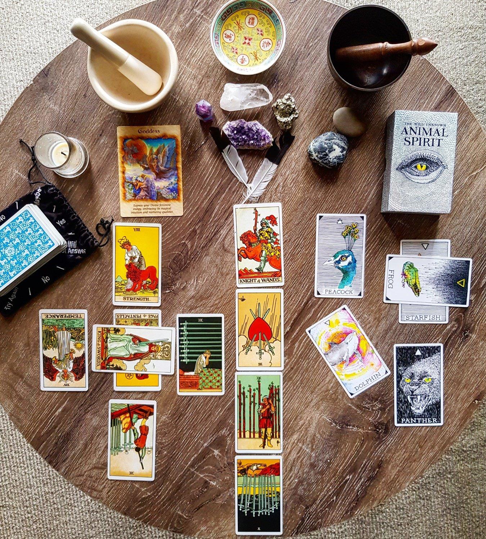 Year Ahead Tarot Reading - (audio recording)