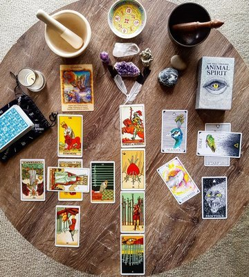 Year Ahead Tarot Reading - (audio recording)