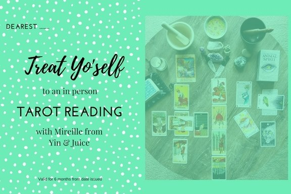 Gift Certificate - Tarot Reading (In Person - choose length of time) GV006