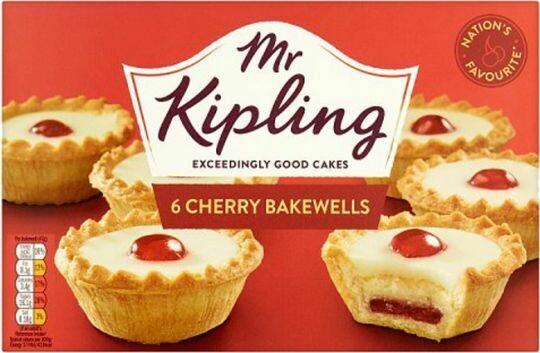 Mr Kipling Cherry Bakewells (Qty 6) 318g (11.2oz)
