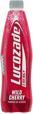 Lucozade Energy Drink - Wild Cherry Flavored 380ml (12.8fl oz)