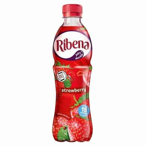 Ribena: Strawberry (Ready to Drink) 500ml (16.9fl.oz.)