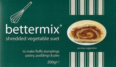Bettermix: Shredded Vegetable Suet 200g (7oz)