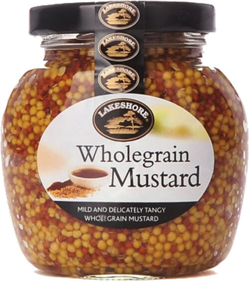 Lakeshore Wholegrain Mustard 205g (7.2oz)