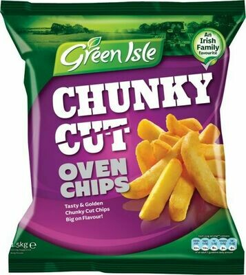 Green Isle Traditional Oven Chips 1.5Kg (52.9oz)