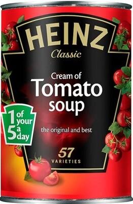 Heinz Cream of Tomato 400g (14.1oz)