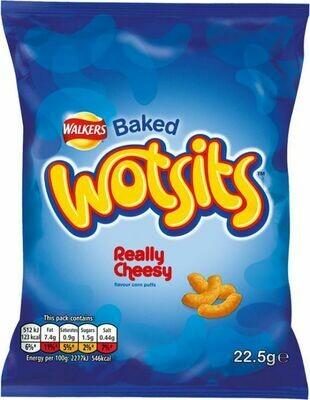 Walkers Wotsits Cheese 22.5g (0.8oz)