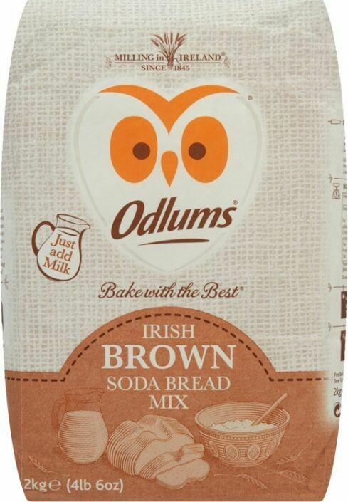Odlums Brown Bread Mix 2Kg (70.5oz)