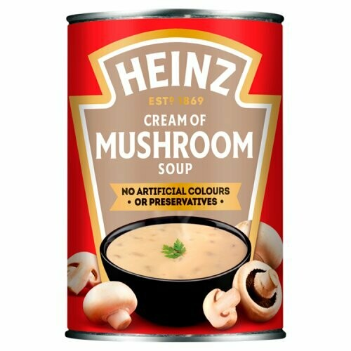Heinz Cream of Mushroom 400g (14.1oz)