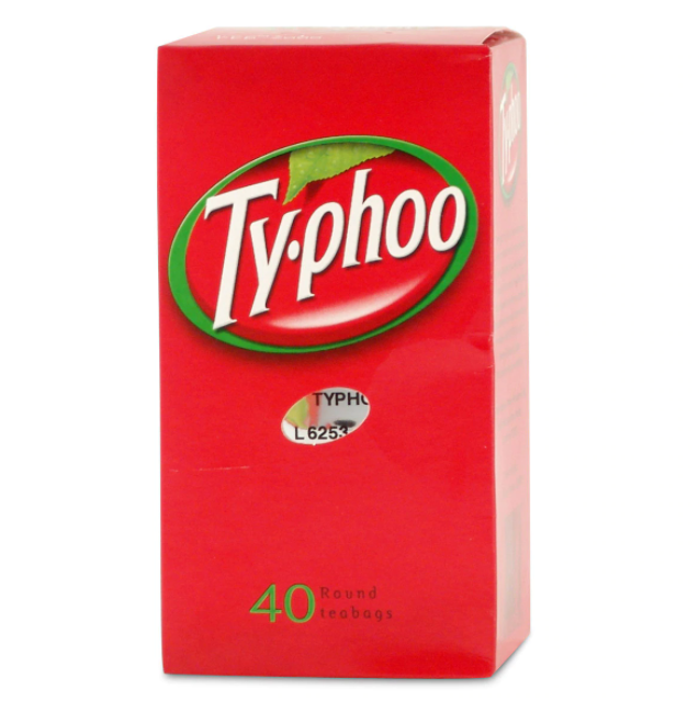 Typhoo Tea 40 Bags 125g (4.4oz)