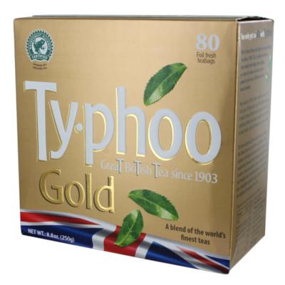 Typhoo Gold Tea 80 Bags 250g (8.8oz)